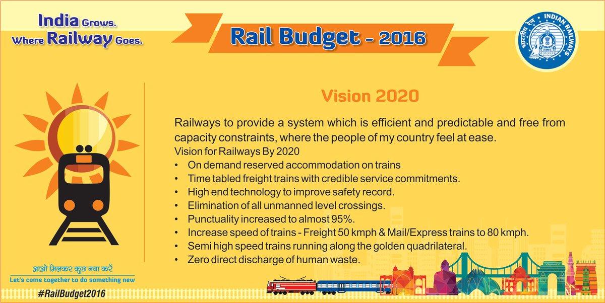 #RailBudget2016 @sureshpprabhu   latest updates on microsite https://t.co/QShIBESSRT https://t.co/gj4TFA3fz4