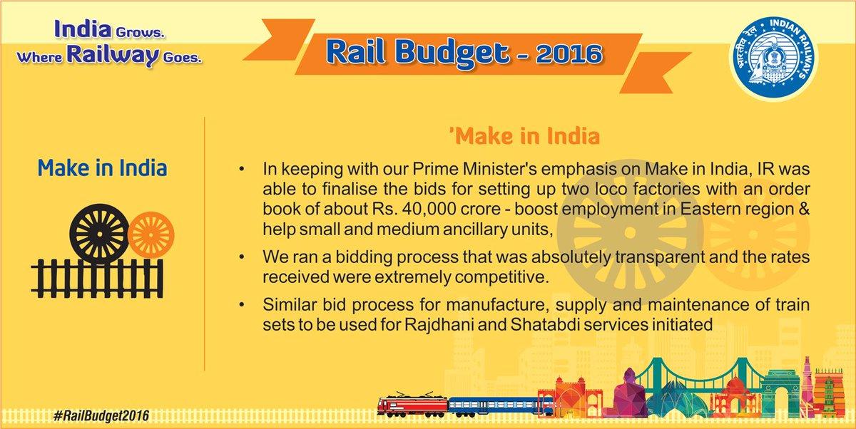 #RailBudget2016 @sureshpprabhu   latest updates on microsite https://t.co/QShIBESSRT https://t.co/xg2ipdbTo6