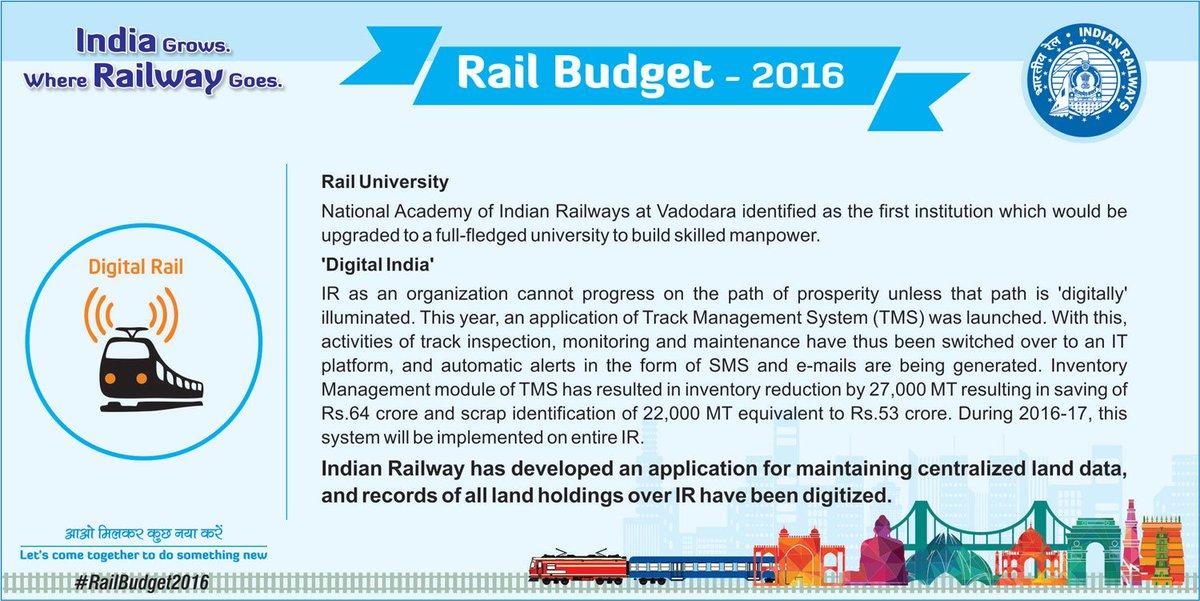 #RailBudget2016 @sureshpprabhu   latest updates on microsite https://t.co/QShIBESSRT https://t.co/qPNKABA6gN