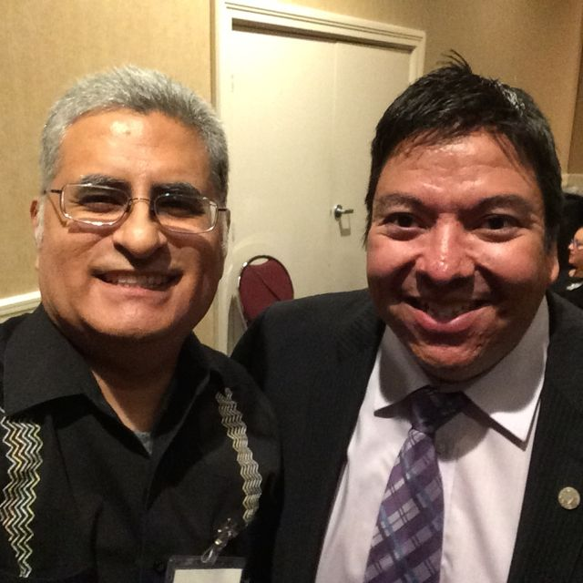 #SACNAS2016 reception @SACNAS Pres @GabeAMontano. 4 new #SciComm push, c #diversity chapter https://t.co/ueN6C6bmyT https://t.co/rPFEDh75sx