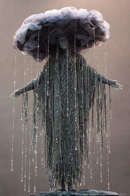 ヴィクトル・ナザレンコによる「憂鬱の女神」。(Victor Nazarenko)