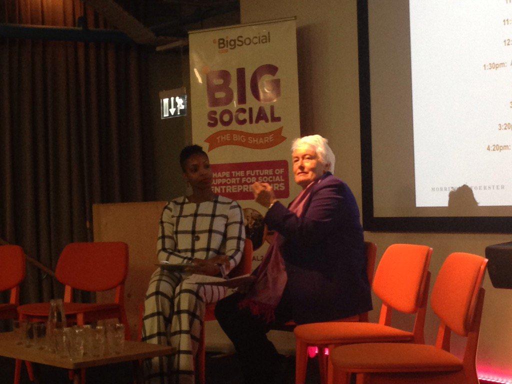 @Bright_Ideas Chair, Margaret Mountford speaking at #BigSocial2016 https://t.co/S26xTYnnMh
