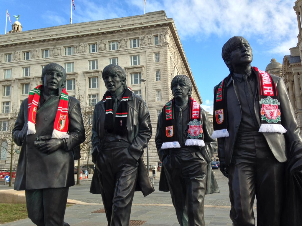 The Fab Four are #FCA Supporters now.