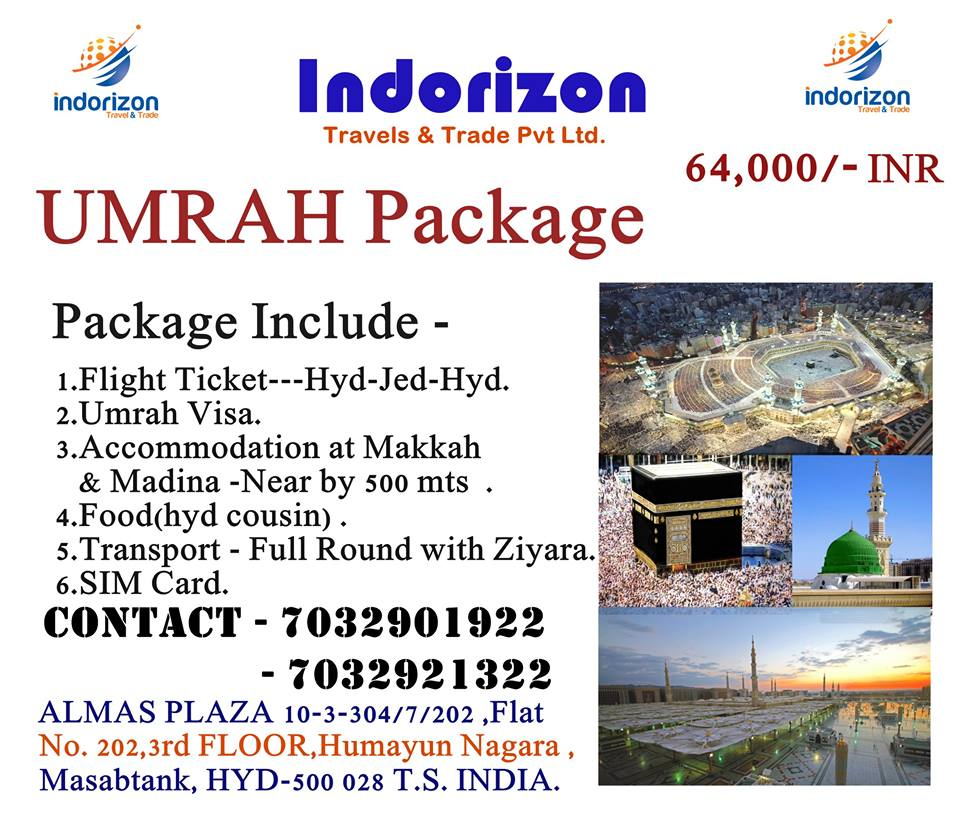 15 Days Umrah Package For Just Inr 64000 All Inclusive India Saudiairlines Umrah Islamic Indorizonpic Twitter Com Uka7psc28x