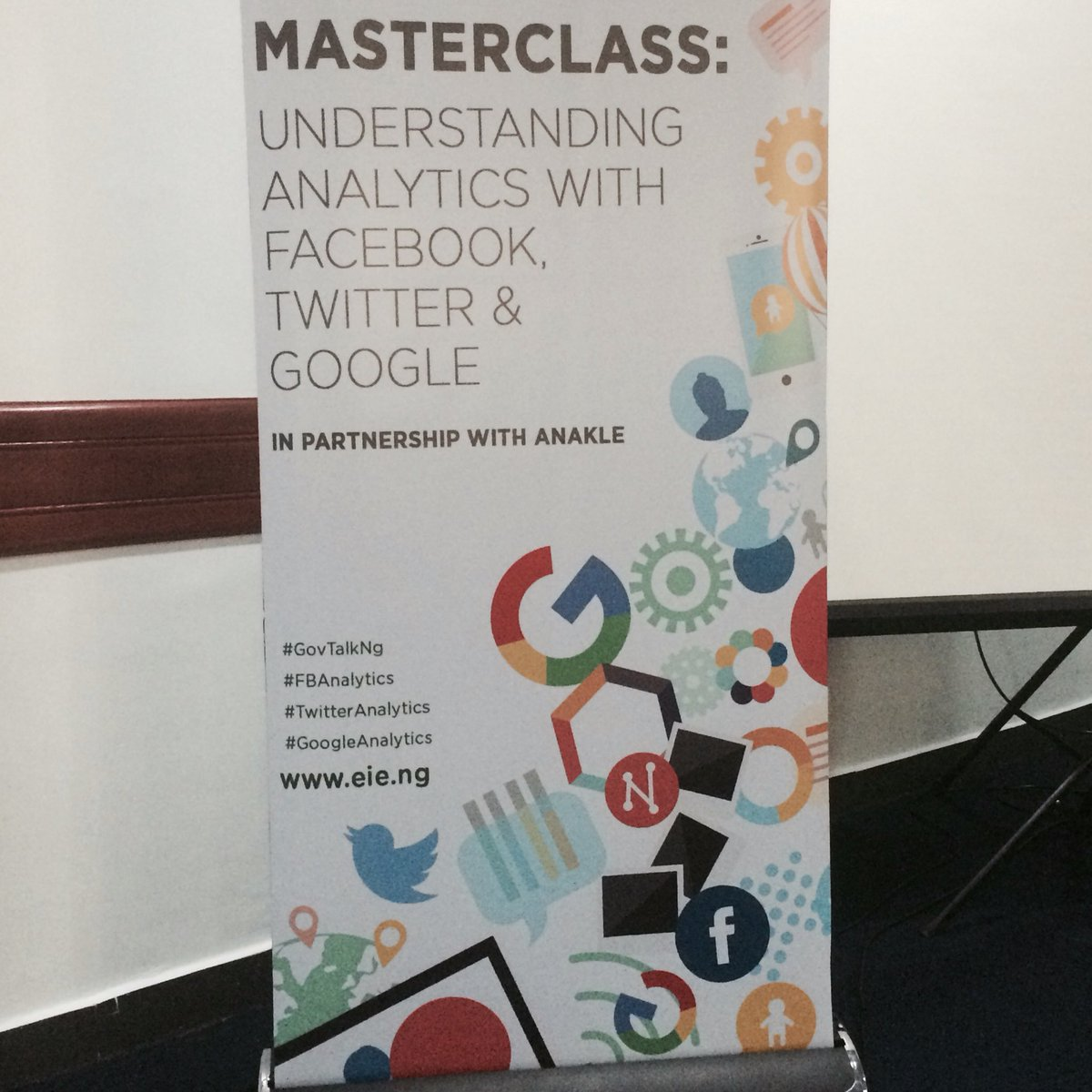 Thumbnail for SMWLagos 2016 Masterclass: Twitter and Google Analytics - with Anakle