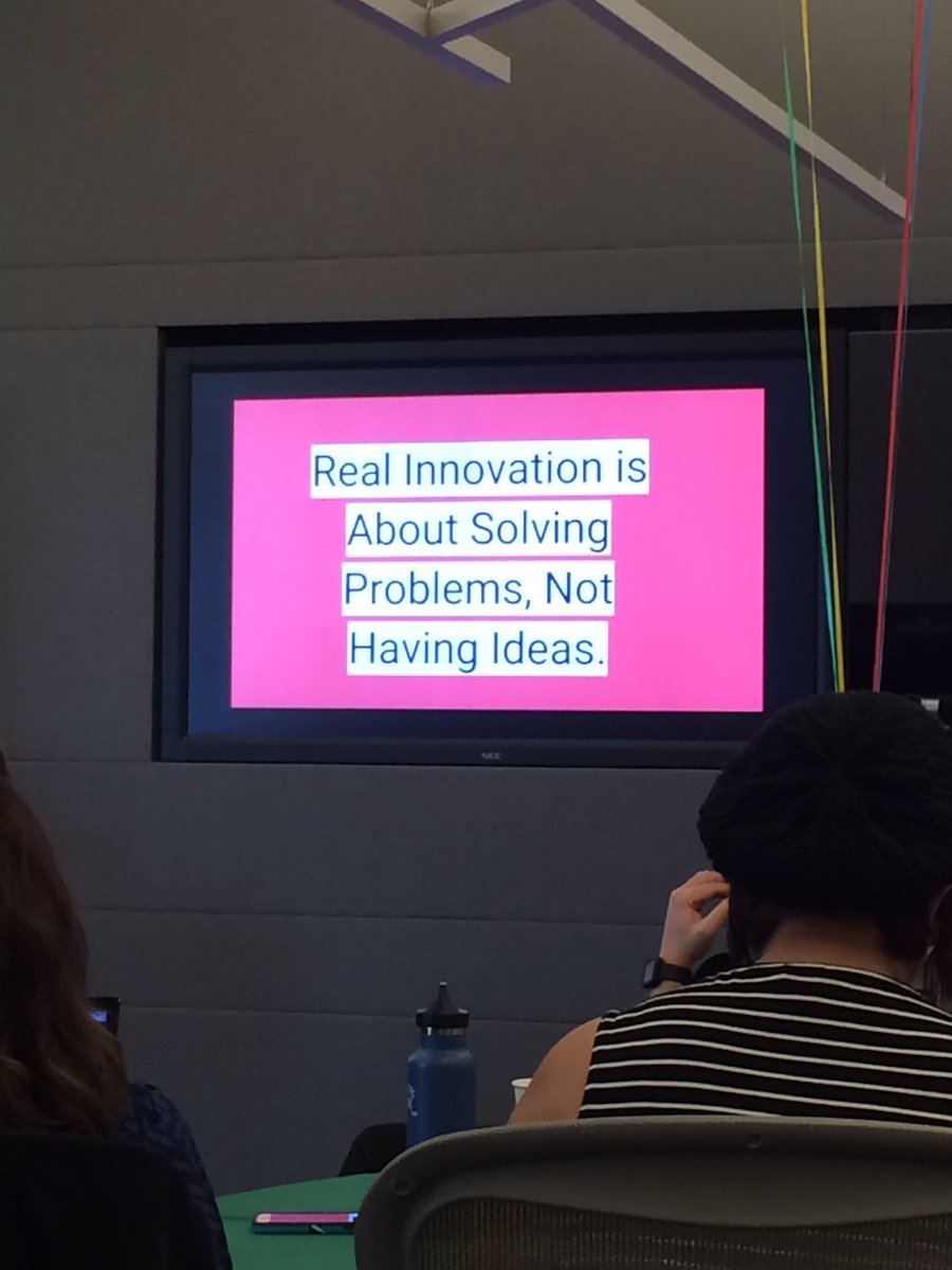 It's about solving problems. #MTV16 #GoogleEI https://t.co/Kxkv1YV4yM