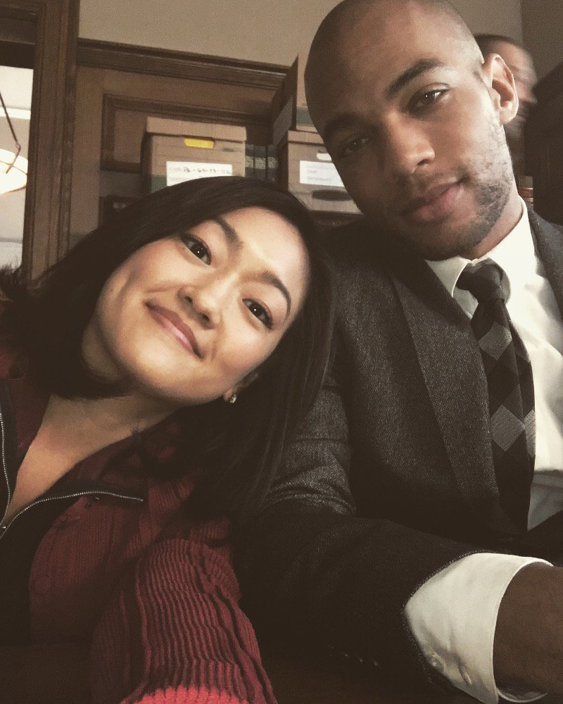 #TGIT today!!! Which means more drama with these guys. @kendrick38 #HTGAWM https://t.co/9ljqhxbaWC