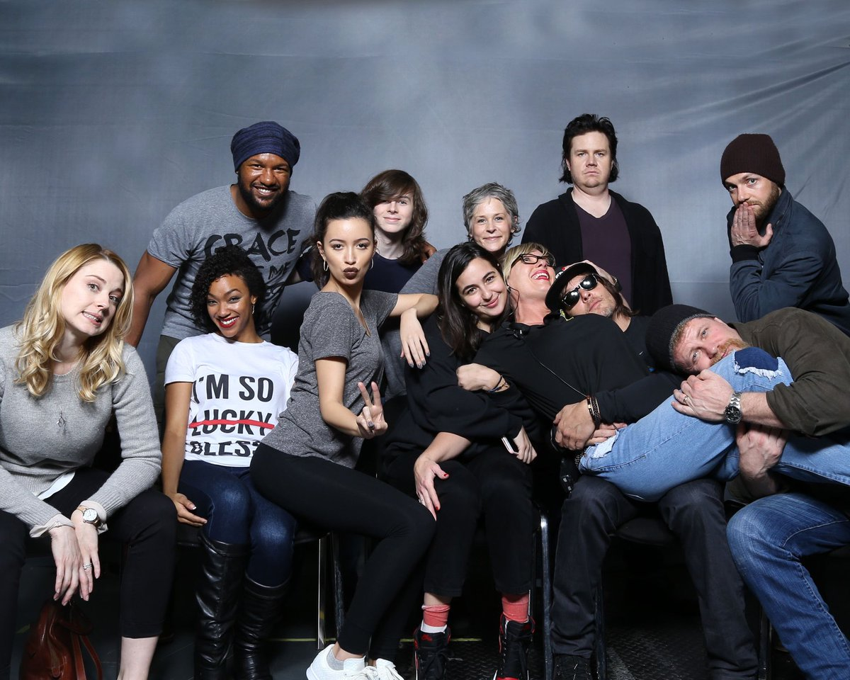 Got to spends some time with these amazing peeps in London last weekend.  My life doesn't suck! #cpolife #TWD