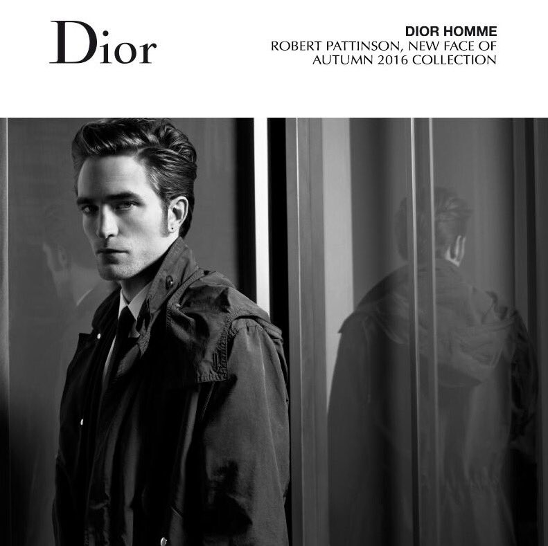 Dior Homme announces Robert Pattinson as new face of Autumn 2016 collection https://t.co/SvkelTDHDm