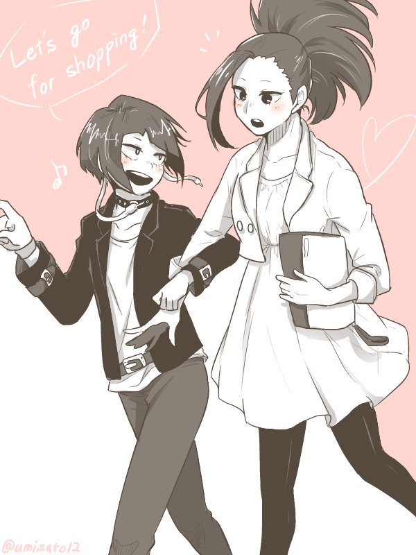 @umisato12 黒川ちゃんより百耳!リクエストありがとうございました〜! ずっとこの2人描きたかったから嬉しみ!!♡