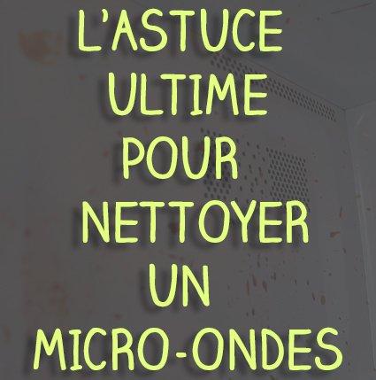 L'astuce ultime pour nettoyer son micro-ondes. https://t.co/uiqfwW1xPB #LifeHack