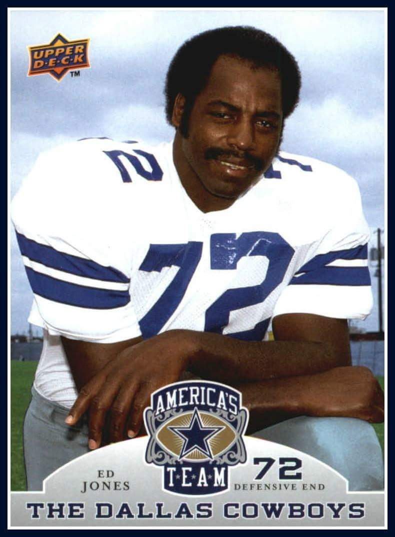 "Happy Birthday to one of greatest DE ever! @dallascowboys  Ed ""too tall"" Jones #CowboysNation https://t.co/l8jZFinOLc"
