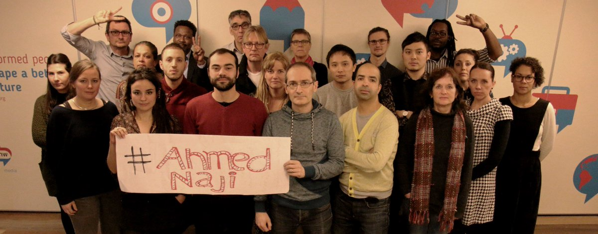 RNW Media staff in support of convicted Egyptian author Ahmed Naji https://t.co/NPmuSf8uJy #ahmednaji @LoveMattersAR https://t.co/ZrKEr6GppQ
