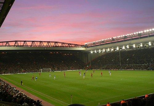 Liverpool & #Ausburg Anfield Road Opened 1884 Club @LFC Capacity 45.362 #LFCFCA #UEL #Anfieldpic.twitter.com/QwuRmEYnRE