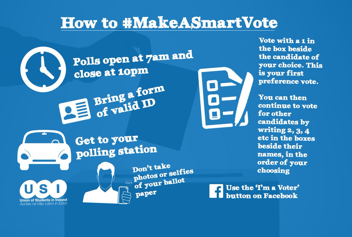 It's time for students to #MakeASmartVote in #GE16 - here's what you need to know before voting! https://t.co/0jS1tdEWLe