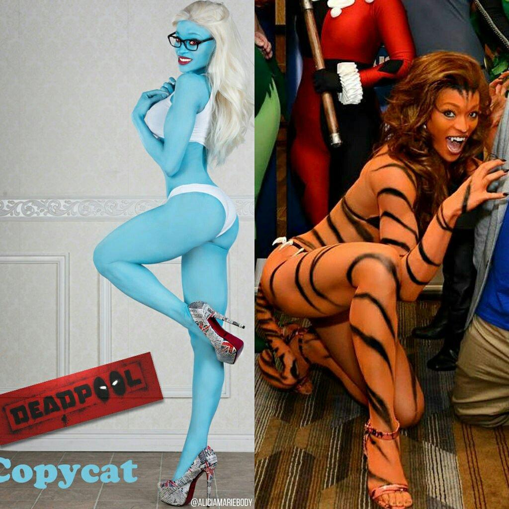 Resultado de imagen para alicia marie cosplay tigra