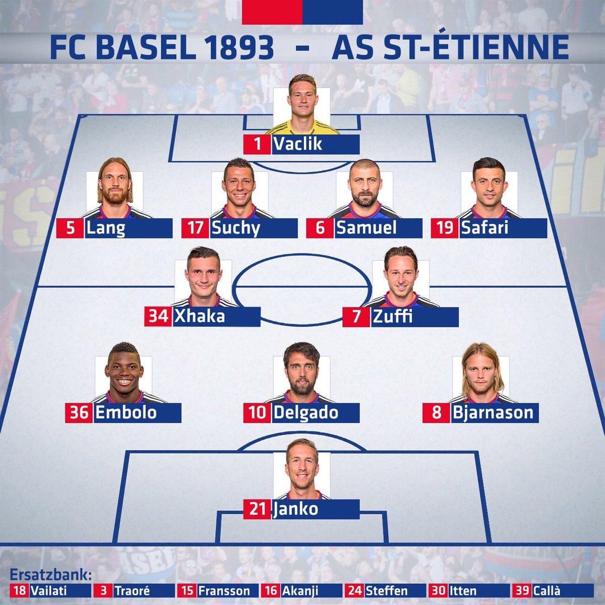 #FCBASSE : Le onze de départ stéphanois avec Bahebeck en pointe !
