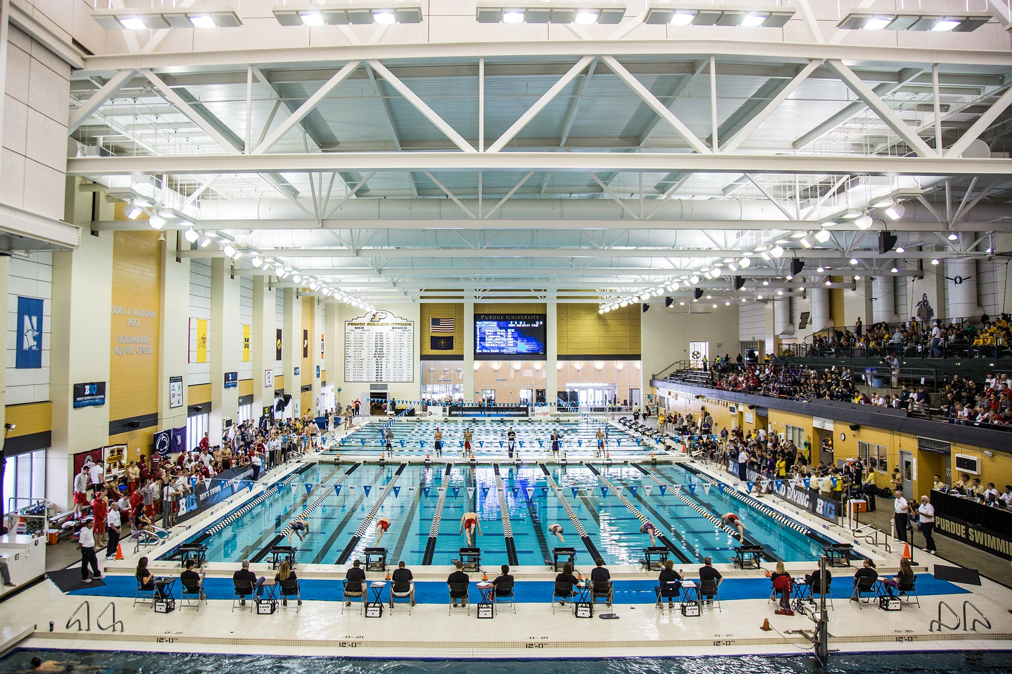 Purdue Swim Dive On Twitter Scenes From Thursday Prelims At Big Tens Courtesy Of Photographer