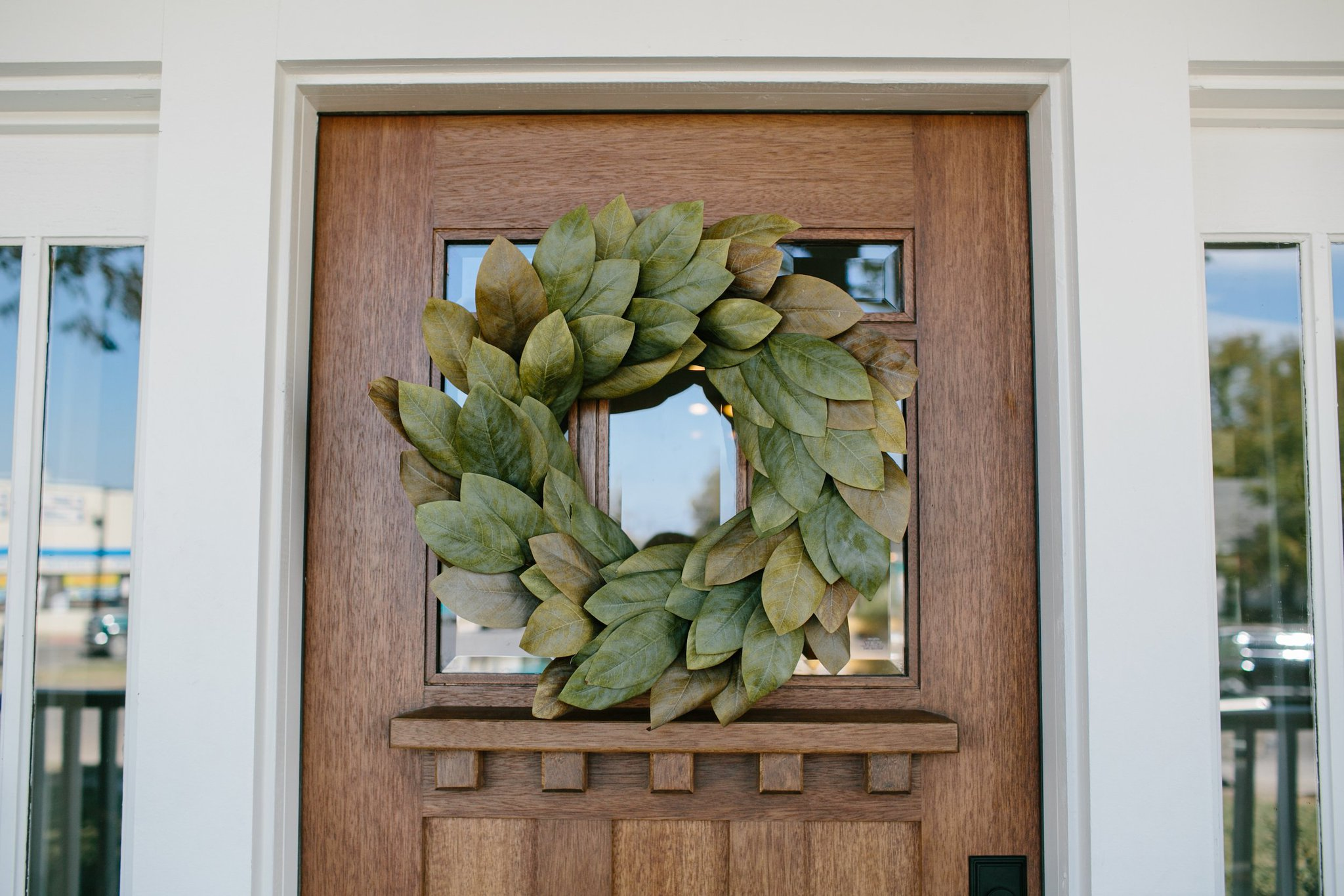 Magnolia On Twitter Who Noticed Our Signature Magnolia Wreath On