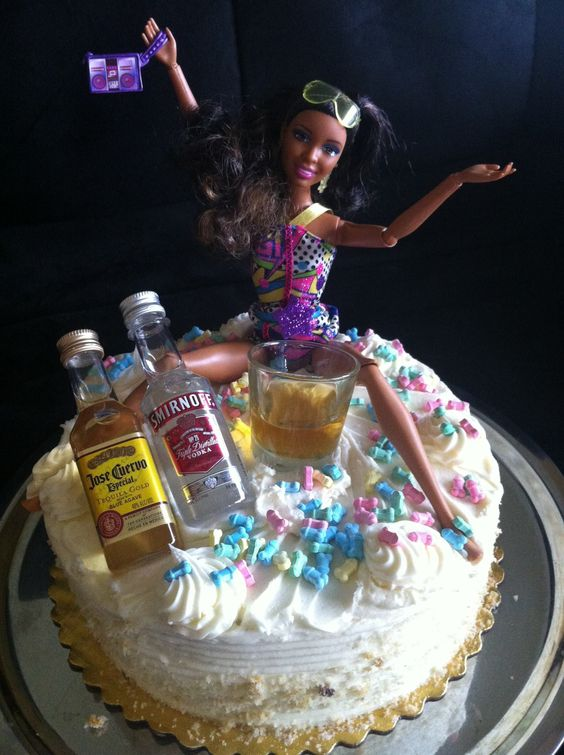 Tipsy Barbie Bachelorette Party Wild N Crazy Cake Decorations Which Do You Like Bestpictwitter Bb7yTN1m4k