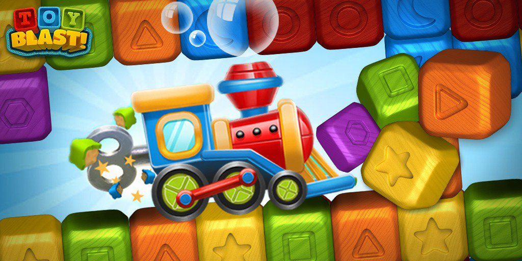 Toy Blast Update : Toy blast on twitter quot use the train booster to clear an