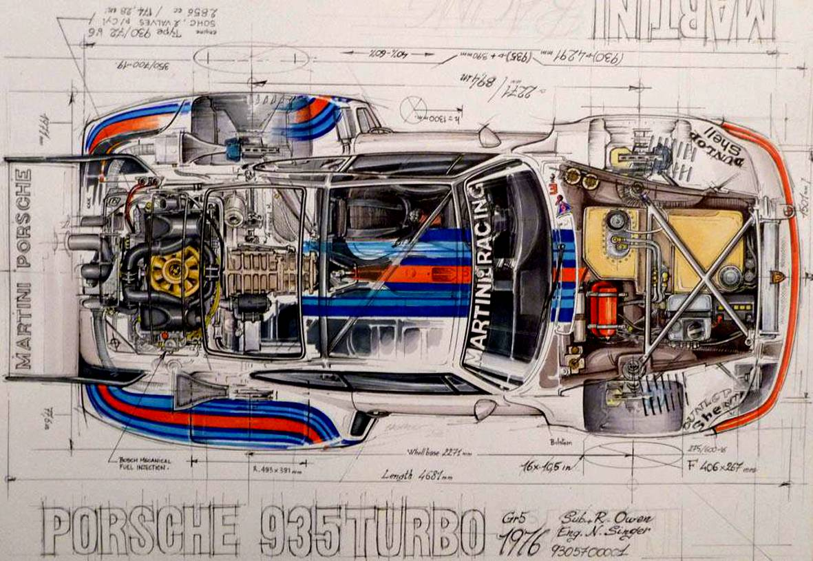 Gtx Forums Porsche 365 Engine Diagram These Hand Made Diagrams Draws By Sebastien Sauvadet Are Absolutly Stunning Motorsport