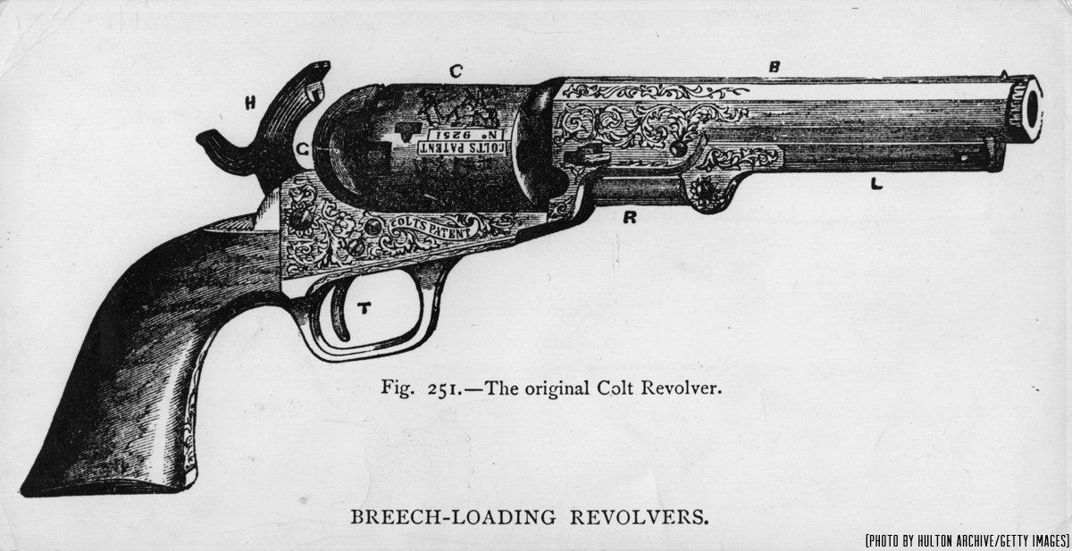 Samuel Colt Colt Paterson : Samuel Colt patented breech