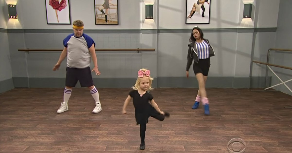 Toddlers teaching @JKCorden and @jennaldewan dances will be the best thing you watch today: https://t.co/QFplYPUr8p https://t.co/Osu0tsVnei
