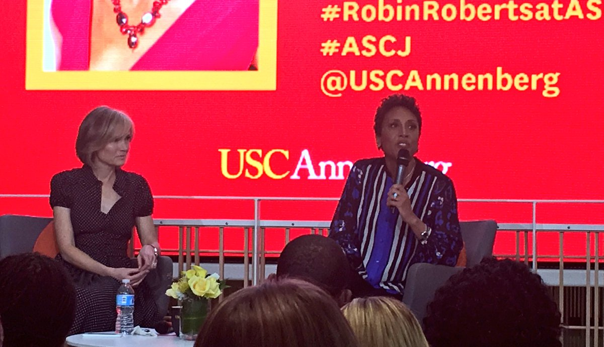 storify robin roberts shares insights advice usc annenberg robinroberts be patient and persistent advice to college seniors