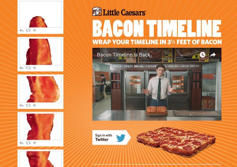 Twitterのタイムラインに長さ約1mのベーコン画像が投稿されるサービス「Bacon Timeline」 https://t.co/1V7etQhRCZ https://t.co/yAF53S64Ev
