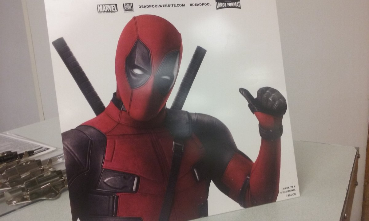 #Deadpool says you better get in on this RT contest 2nite. 200 RTs and one tweeter will win a one of a kind prize.-k https://t.co/keXoQWUtte