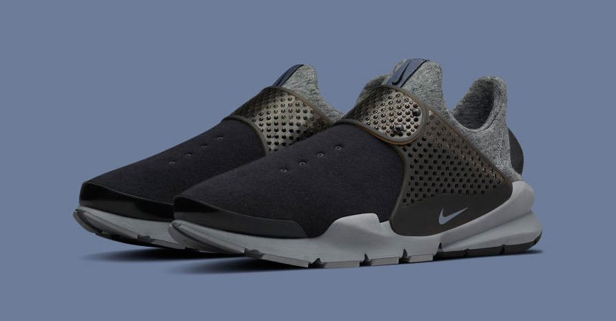 the latest 66489 b8a34 nikelab is releasing more tech fleece sock darts for ss16 .