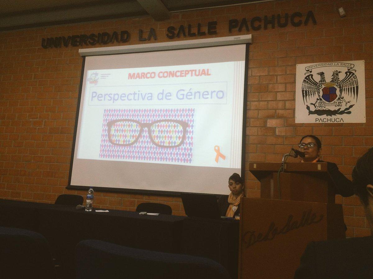 """""""La perspectiva de género en la procuración de justicia"""". Lic. Luz María Ramírez Pérez @LaSalleP @PGJE_Hidalgo"""