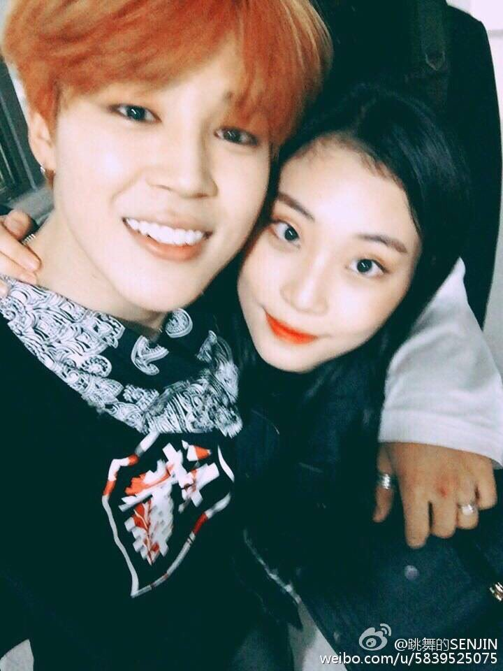 bts sg on twitter jimin s high school friend posted pictures