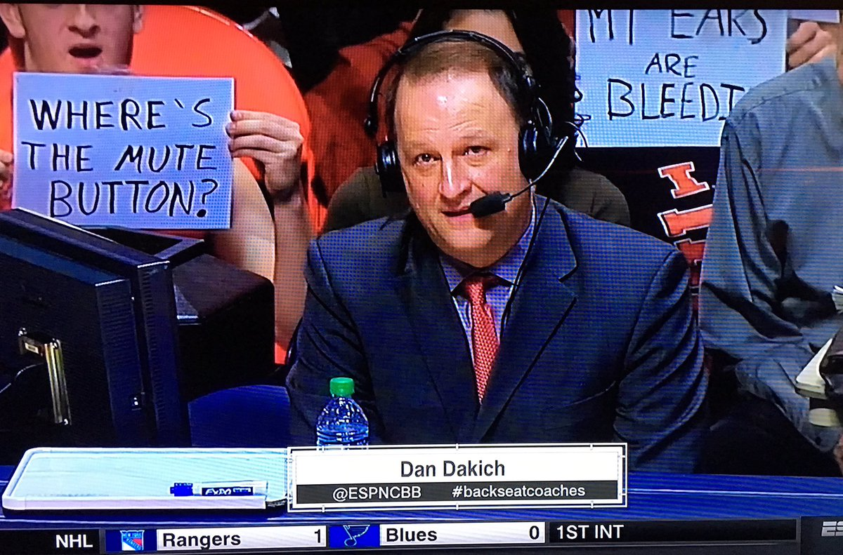 Illinois fans showing some love to @dandakich. https://t.co/obu1hTsJV4