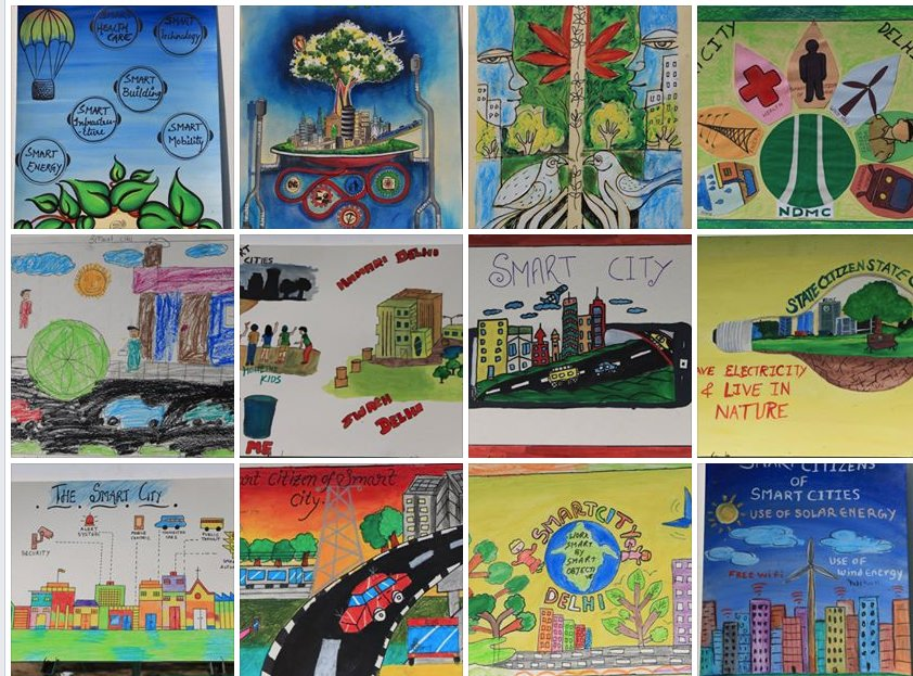 NDMC Official On Twitter Art In The Park Poster Making Competition Entries Tco Q9KaUqO2D1 X8Uea6Kw2J