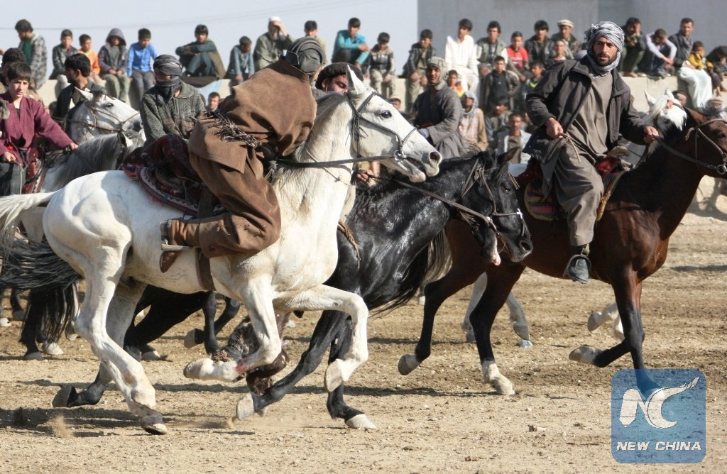 season Buzkashi goat grabbing Afghan national sport banned Taliban