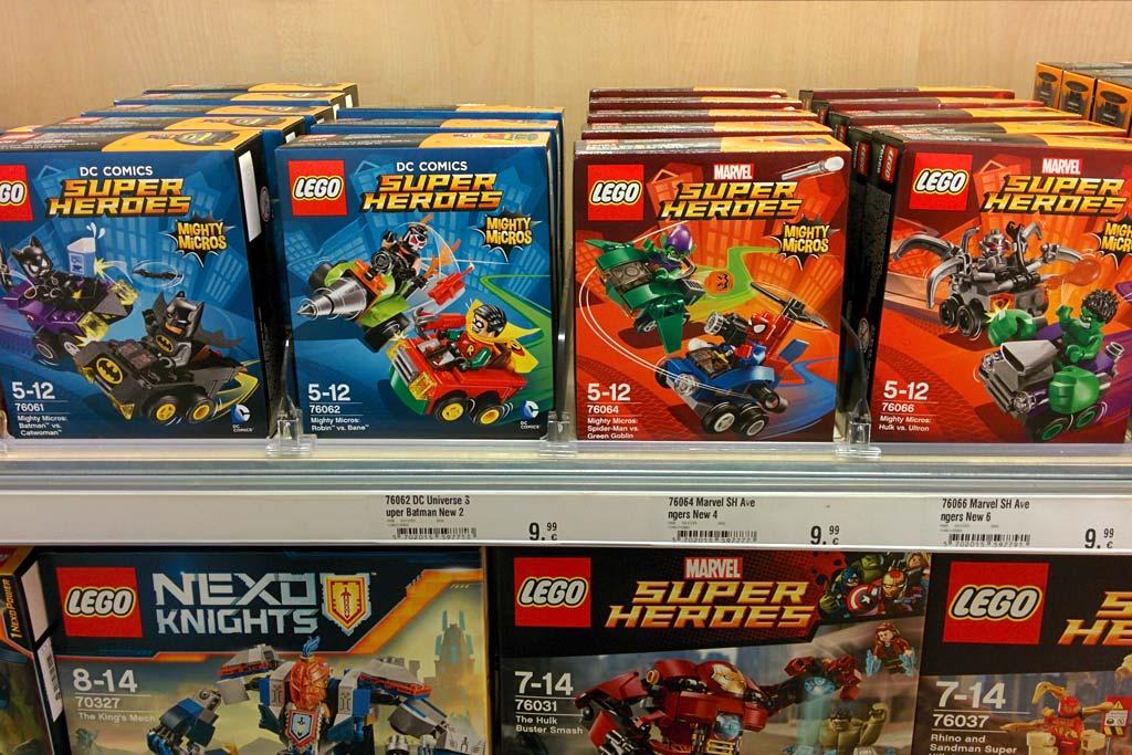 "Zusammengebaut on Twitter: ""#LEGO #SuperHeroes Mighty Micros ..."