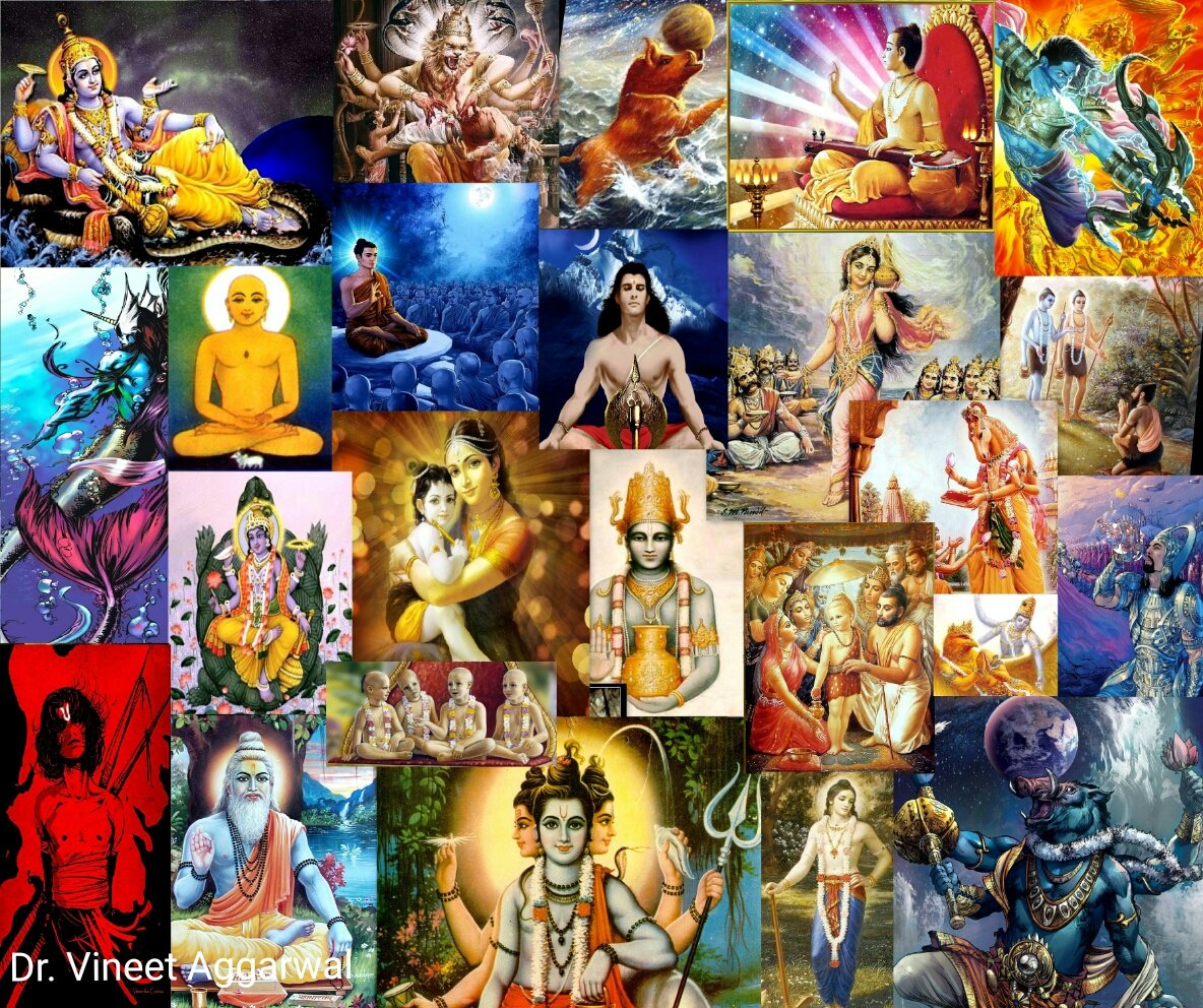 CcIAZlmVAAA4yXe - Vishnu: The source of Incarnations