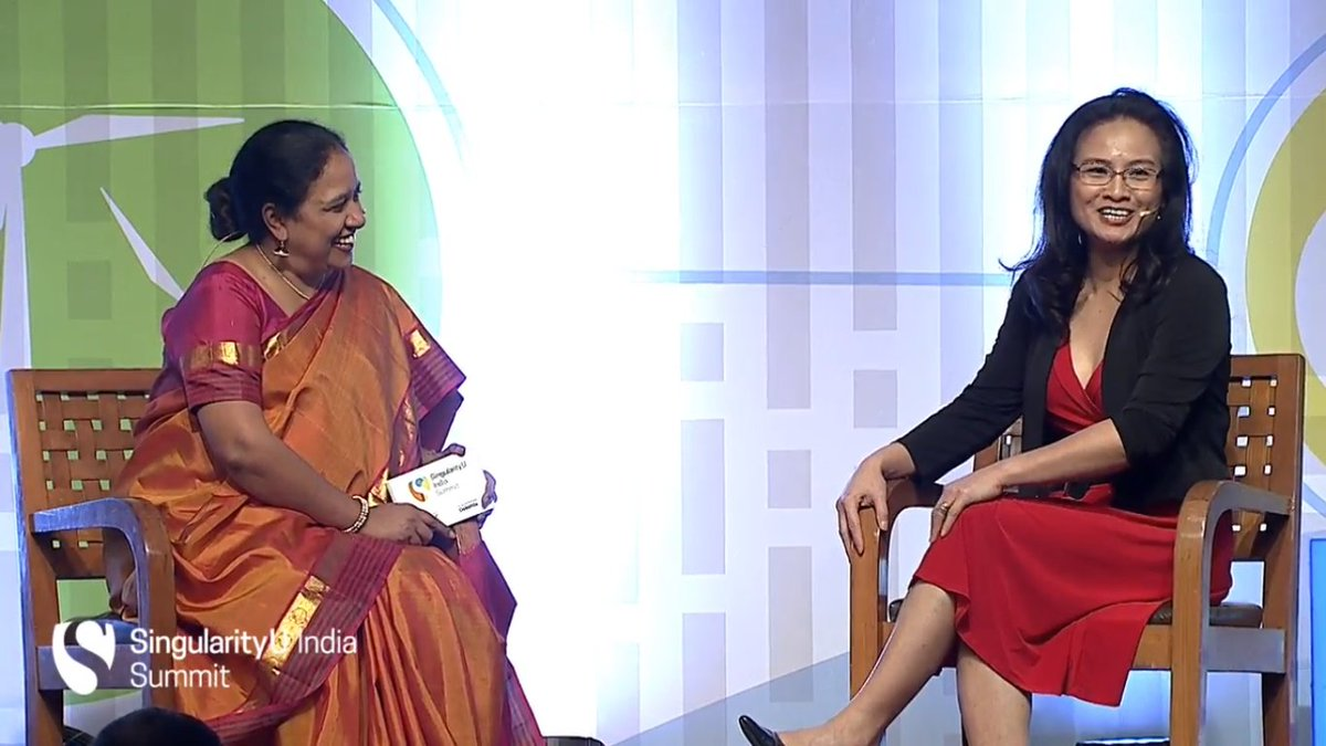 #SUIndiaSummit is live with @lakshmipratury in conversation with Emeline, Chief Impact officer at @singularityu https://t.co/PyRWF2nJhI
