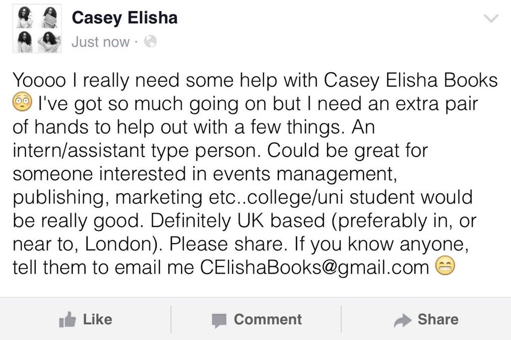Calling all students, looking for a really cool internship!! See the attached photo for details. @CaseyElisha_ https://t.co/ARN1nMJwEL
