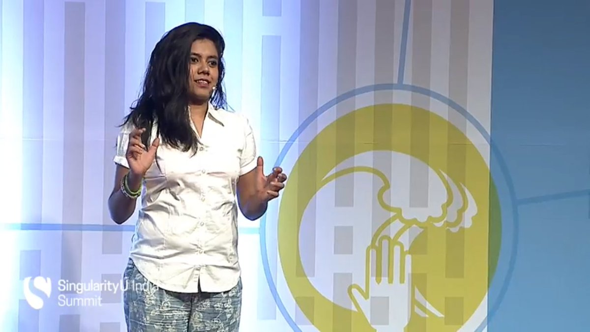 #SUIndiaSummit @highrealities takes the stage to talk about the challenges she faced while climbing #Everest https://t.co/s5R4zqMpYl