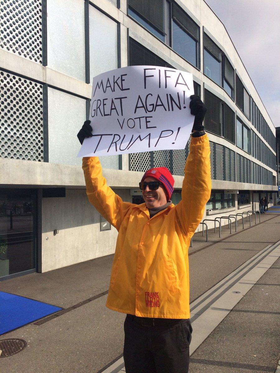 У президенти ФІФА хочуть обрати Трампа - фото 1