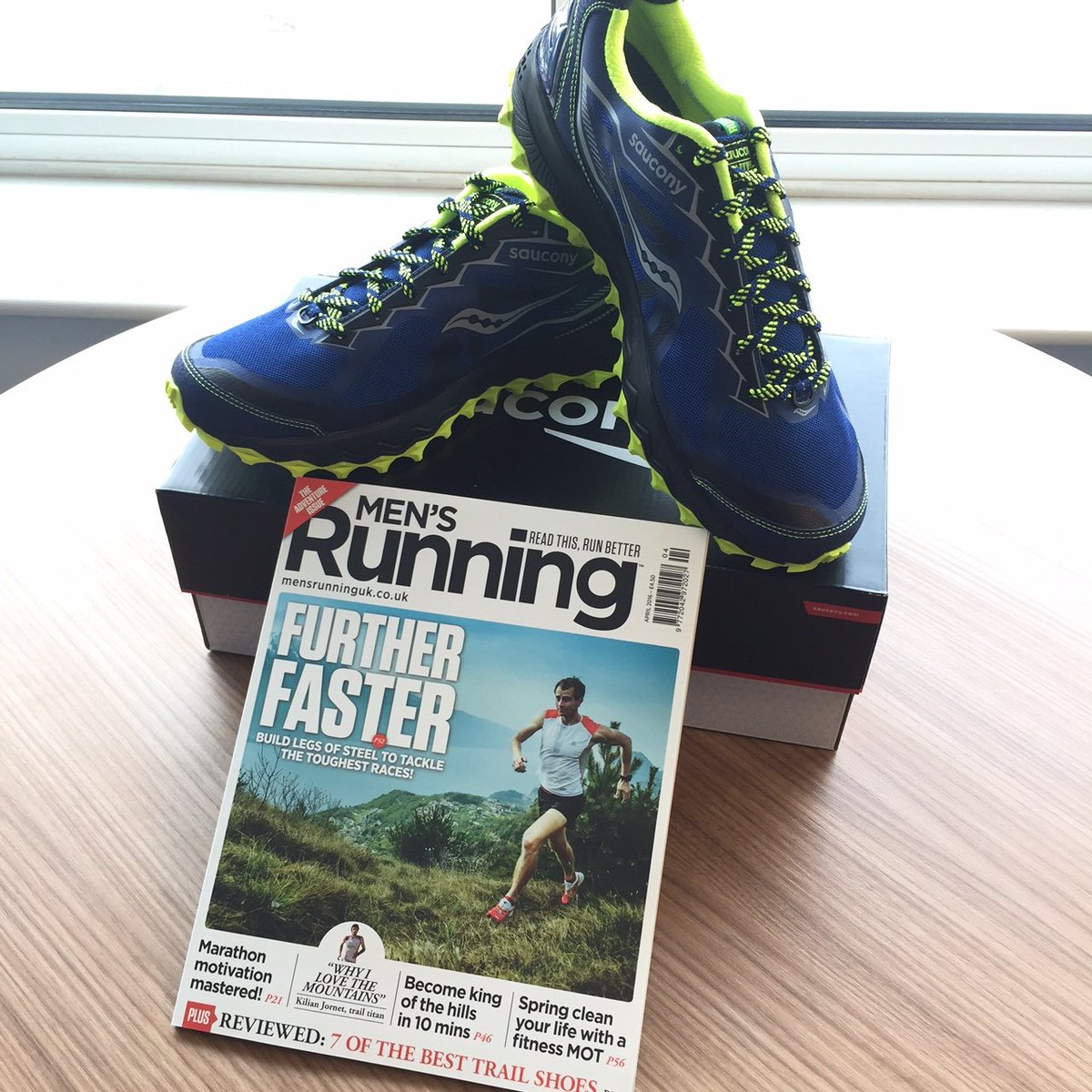 17c4ea40cf RT  Mensrunninguk  to win a pair of  saucony Peregrine 6 trail shoes worth  over £100