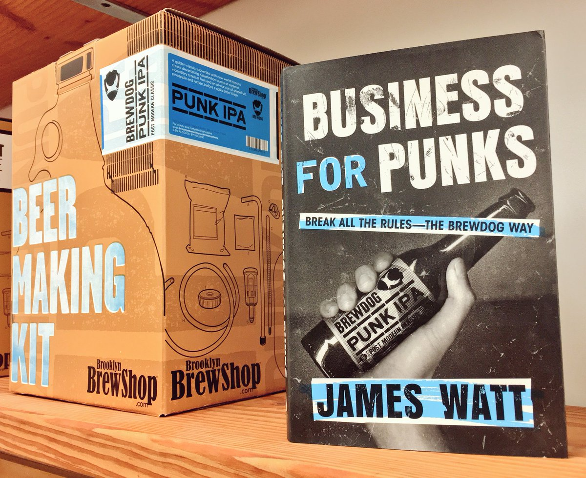 We're giving away 1 free copy of #BusinessForPunks: The awesome new book by @brewdog's @BrewDogJames. RT to win.