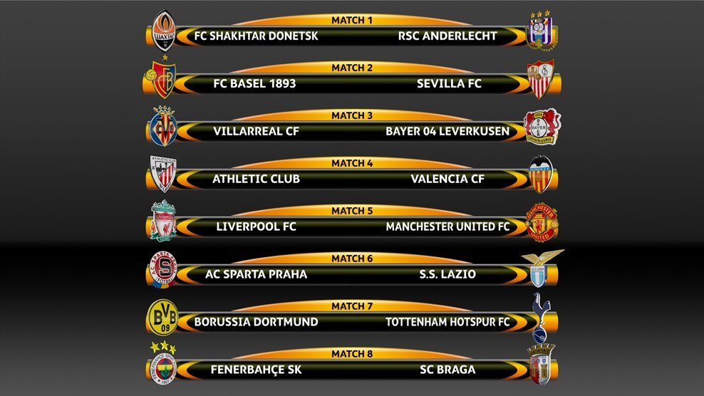 '@EuropaLeague: The ties will be played on 10 and 17 March. We're in f...
