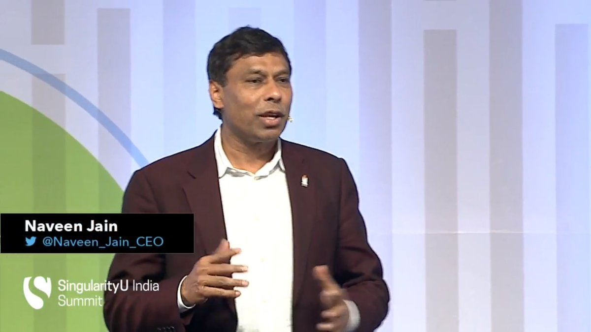 The link between problems and solutions are entrepreneurs - the problem solvers! @Naveen_Jain_CEO #SUIndiaSummit https://t.co/a555UhEtrS