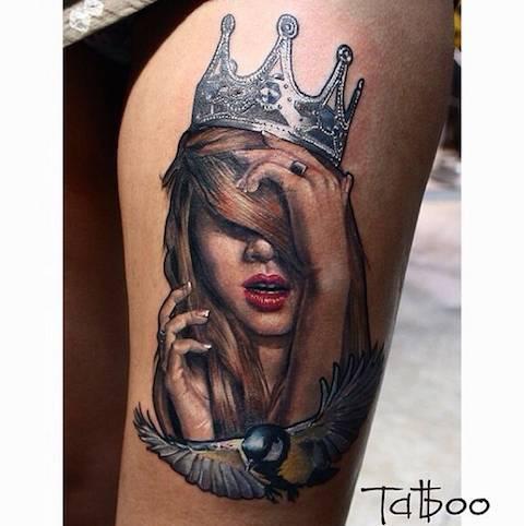 CcJILGHW8AADdoh - Tatuagens realistas da russa Valentina Ryabova