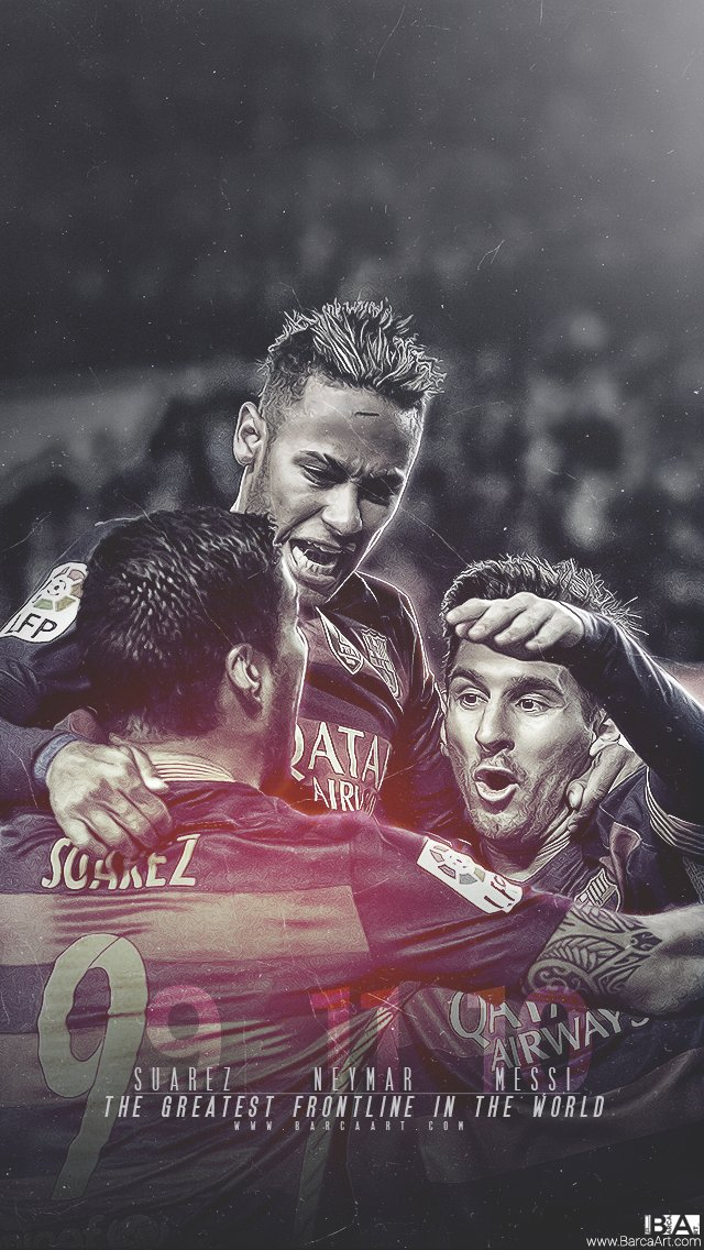 Wallpaper Suarez Neymar And Messi