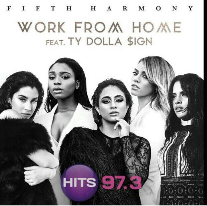 ITS ON AGAIN!!!! @HITS973 #DJLMS #WorldPremiere @FIFTHHARMONY #WORKFROMHOME https://t.co/hS6mytZJJy